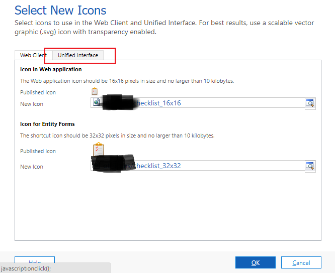 Customizing Entity Icons for Unified Interface – Dynamics